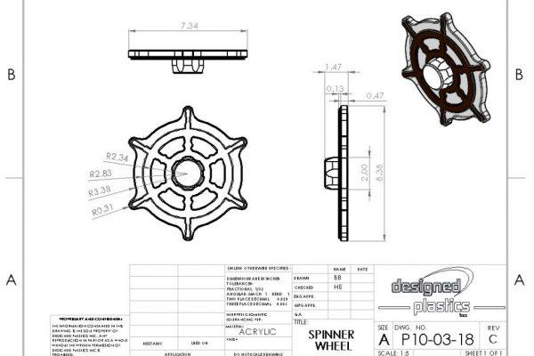 Spinner Wheel Drawing