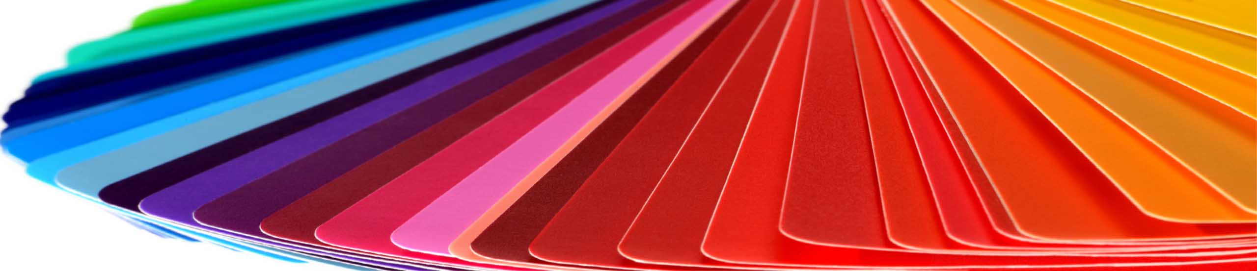 Plastic Color Chips