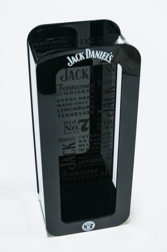 Jack Daniels bottle display 1